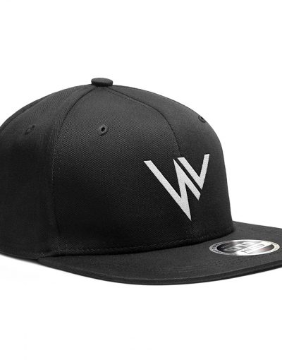 NV 3D snapback cap – Black